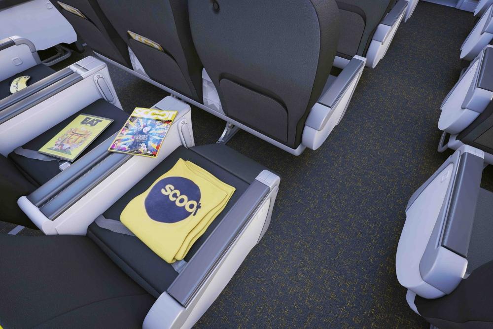 inside scoot 39 s 787 dreamliner airline ratings. Black Bedroom Furniture Sets. Home Design Ideas