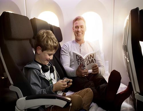 air newzealand economy skycouch