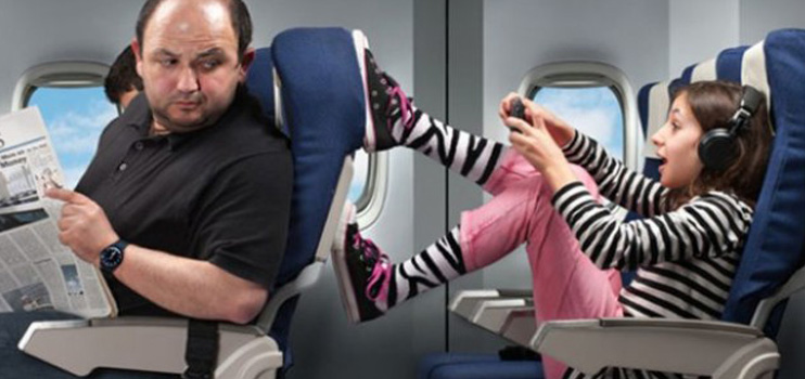 how to make children behave on a plane