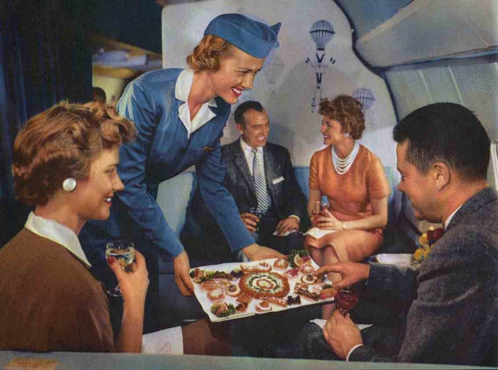 in-flight Entertainment in the 1950s