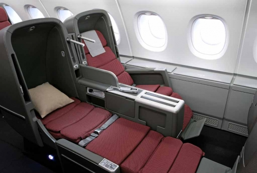International Business Class Seat.