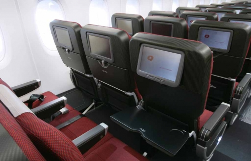 International Economy Class and domestic A330 aircraft.