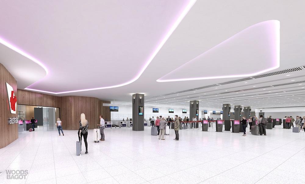 Virgin airport T3 redevelopment
