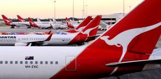 Passenger numbers Australia fall