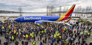 the 10,000th 737