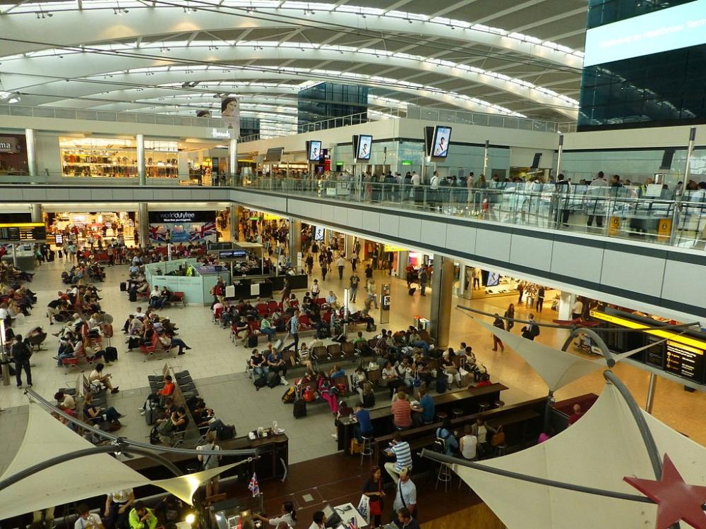 Terminal Five Airport Heathrow