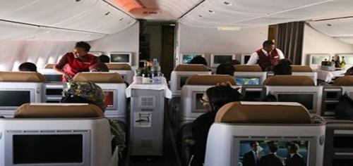 Kenya Airways 777-300ER Business Class