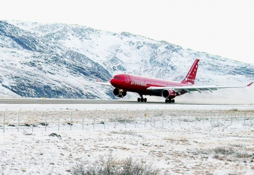 Air Greenland A330  Picture: Facebook/ Air Greenland