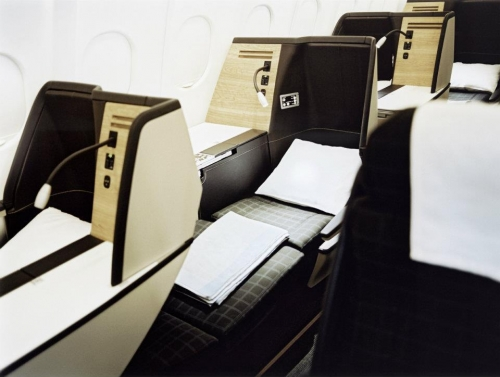 Swiss International Business Class  Picture: Facebook/Swiss International