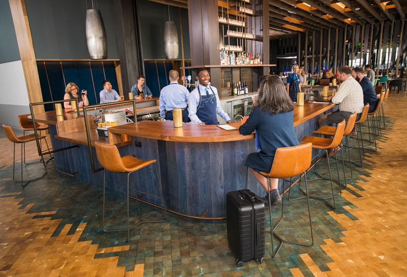 Alaska Seattle Lounge