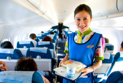 Bangkok Air ATR cabin  Picture: Facebook/Bangkok Air