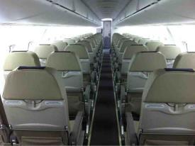 Porter Airlines cabin