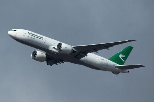 Turkmenistan 777-200  Picture: Facebook/turkmenistan