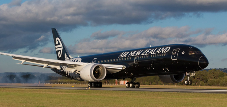Air New Zealand profit