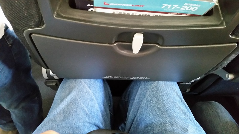 QantasLink and the seat from hell