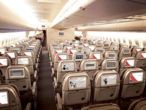 Asiana long haul Economy Class  Picture: Facebook/Asiana