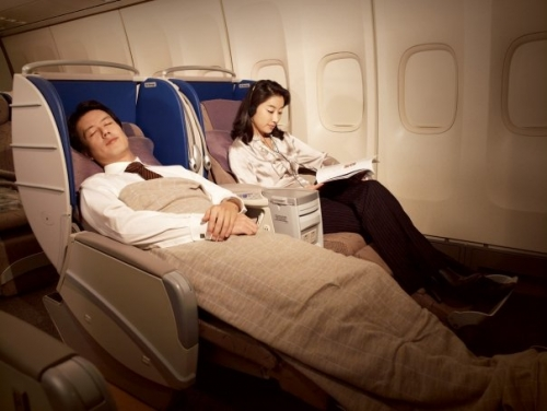 Asiana Business Class  Picture: Facebook/Asiana