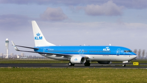 KLM 737-800  Picture: KLM