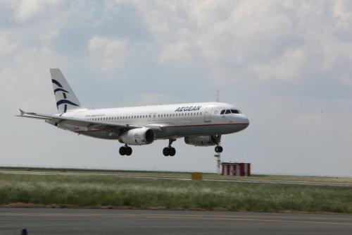 Aegean A320 Picture: Facebook/Aegean