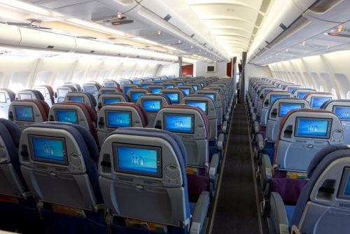 LAN long haul Economy Class  Picture: Facebook/LAN