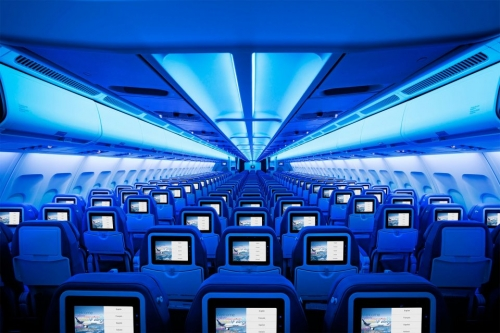 Economy Class on the new Airbus A330  Picture: Facebook/Air Transat