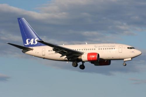SAS 737 Picture: Facebook/SAS