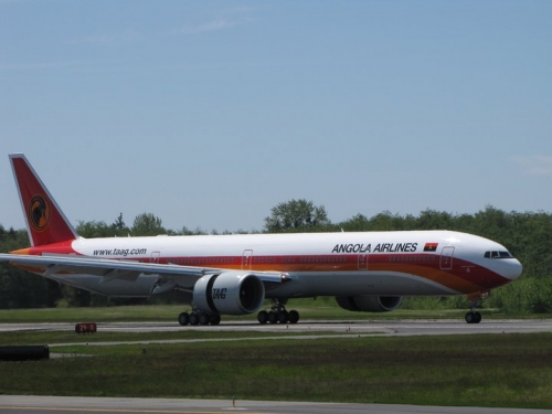 TAAG Angola 777  Picture: Facebook/TAAG