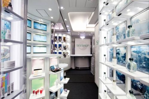 Korean Air A380 on board shop  Picture: Facebook/Korean Air