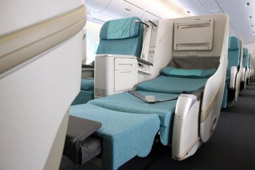 Korean Air A380 Business Class Picture: Facebook/Korean Air