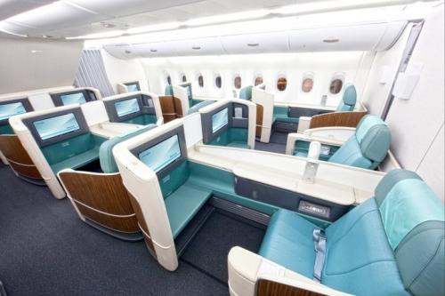 Korean Air A380 First Class  Picture: Facebook/Korean Air