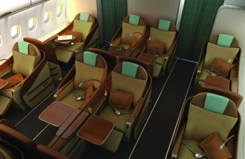 Oman Air A330 Business Class  Picture: Facebook/Oman Air