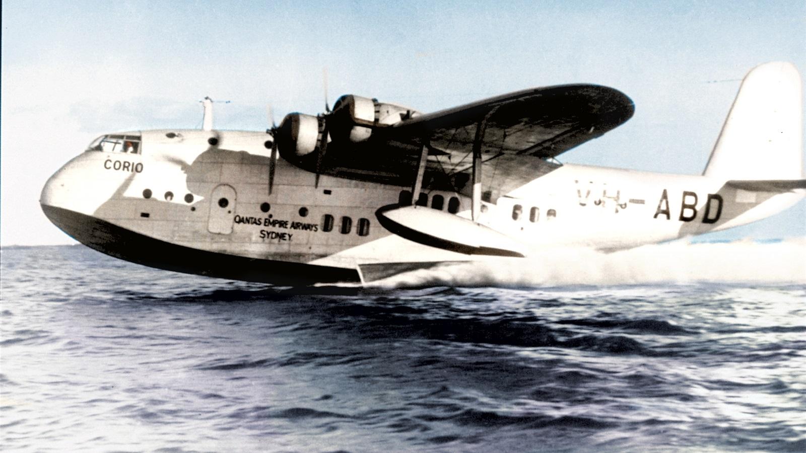 Short flying boat
