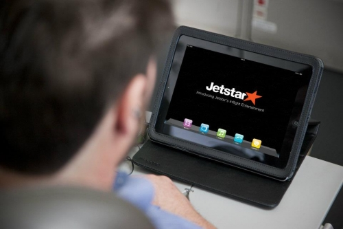 Jetstar I pads available for hire   PIcture: Facebook/Jetstar