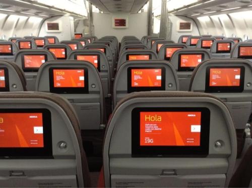 Iberia long haul Economy Class  Picture: Facebook/Iberia