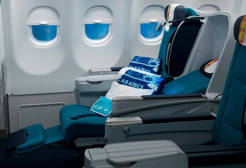 Air Caraibes Business Class A330 Picture: Facebook/Air Caraibes