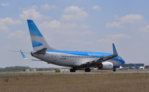 Aerolineus Argentinas 737-800 Picture: Facebook/ Aerolineas Argentinas