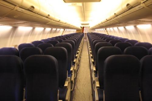 SAS Economy Class on single aisle aircraft  Picture: Facebook/SAS