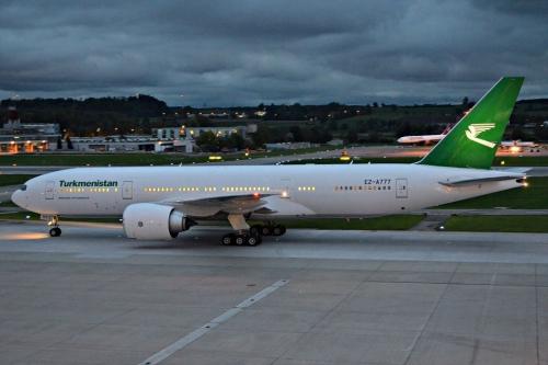 Turkmenistan 777-200  Picture: Facebook/Turkmenistan Airlines