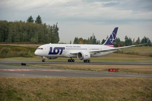 LOT 787 Dreamliner  Picture: Facebook/LOT