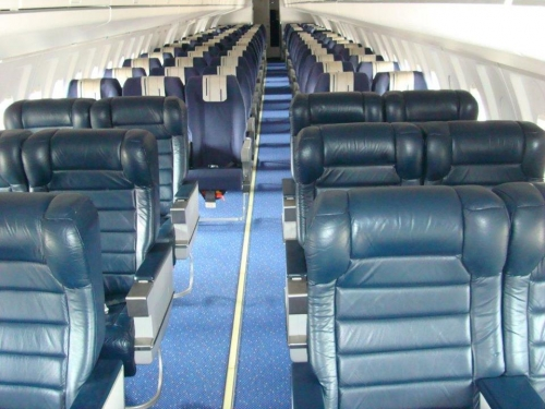 Business and Economy Class on the Air Panama Fokker 100  Picture: Facebook/Air Panama