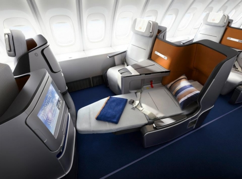 Lufthansa new Business Class Picture: Facebook/Lufthansa