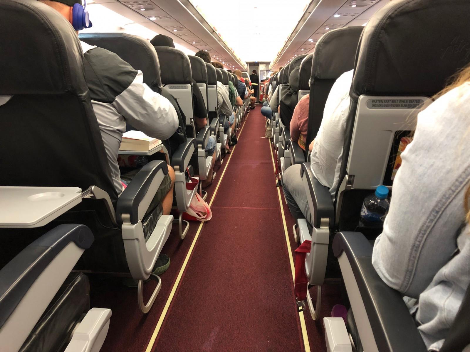 airlines cram passengers