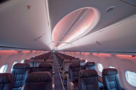 Alaska Airlines Boeing Sky Interior  Picture: Facebook/Alaska Airlines