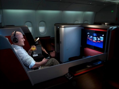 Malaysia Airlines First Class on the A380  Picture: Malaysia Airlines