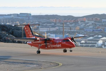 Air Greenland Turboprop Picture: Facebook/ Air Greenland