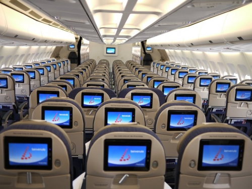 Brussels Airlines long haul Economy Class  Picture: Facebook/Brussles Airlines