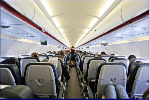 Economy Class cabin Picture: Facebook/Aegean