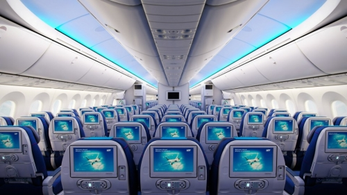 LOT Economy Class on the Dreamliner  Picture: Facebook/LOT