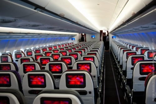 New A330 Economy Class  Picture: Facebook/Virgin Australia