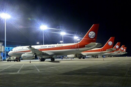 Sichuan Airlines A320 Picture: Facebook/Sichuan Airlines